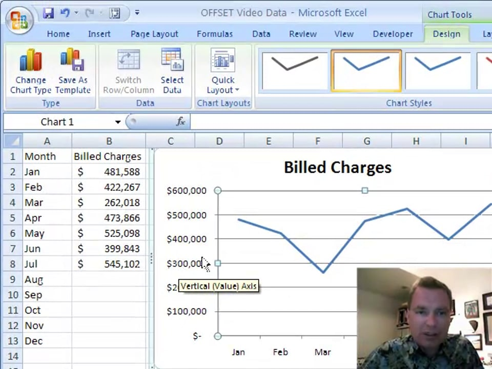 Excel Video 86 Creating and Using Names in Charts