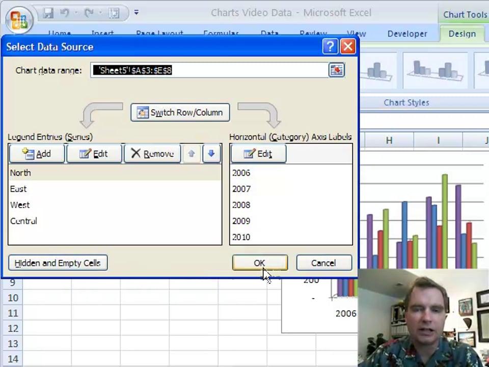 Excel Video 98 Changing Plot Order