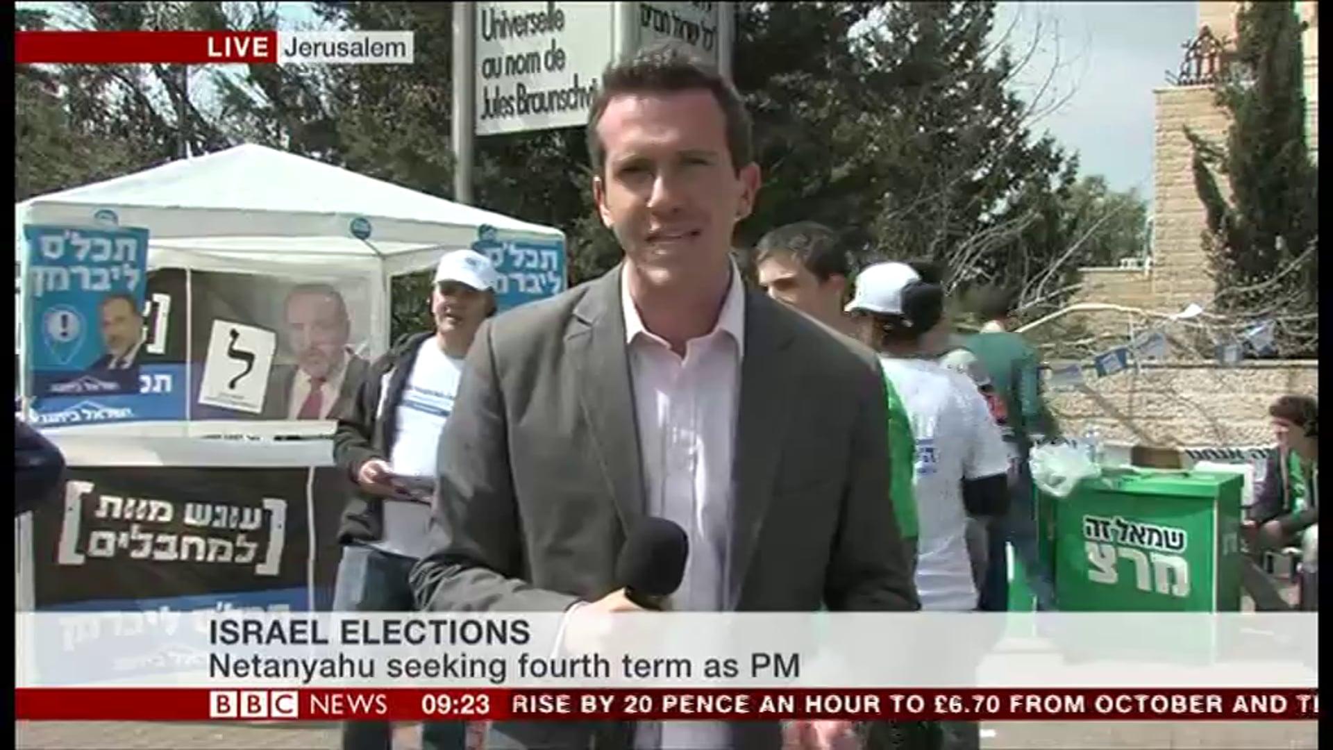 BBC News live broadcast
