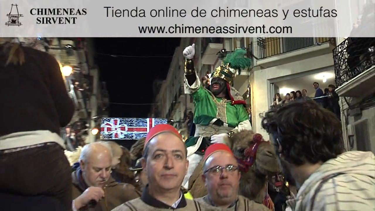 Video de la popuiar cabalgata de reyes magos de Alcoy de 2013