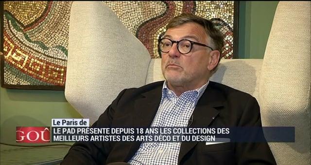 BFM Business – Interview Patrick Perrin – PAD Paris 2015
