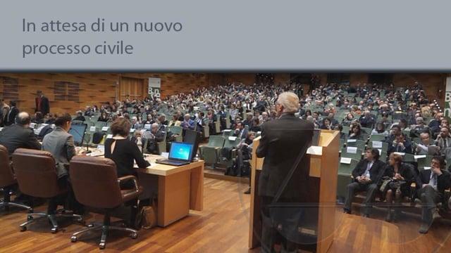 In attesa di un nuovo processo civile - 1/4/2015