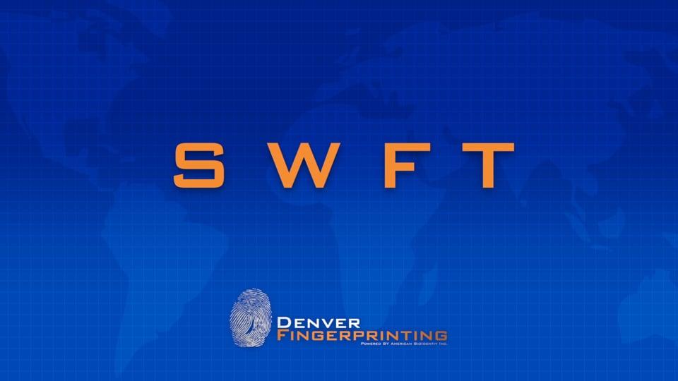 SWFT – FBI Fingerprint Training