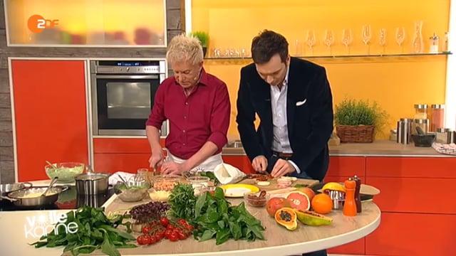 Armin Roßmeier kocht mit Bärlauch