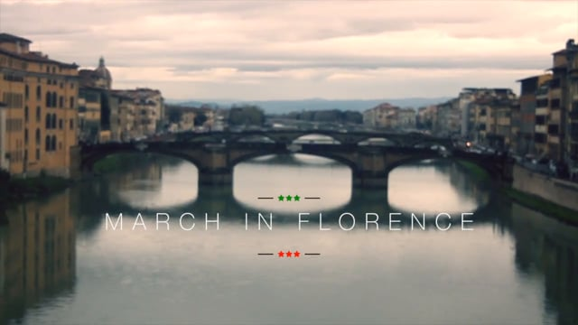 March in Florence