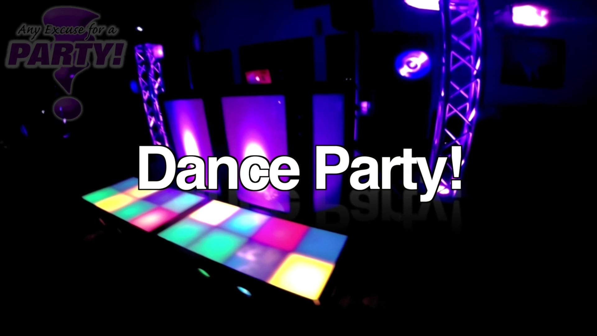 Black Light Dance Party // Any Excuse For A Party!