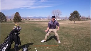 How To Push With The Lead Foot - A Bracing Drill