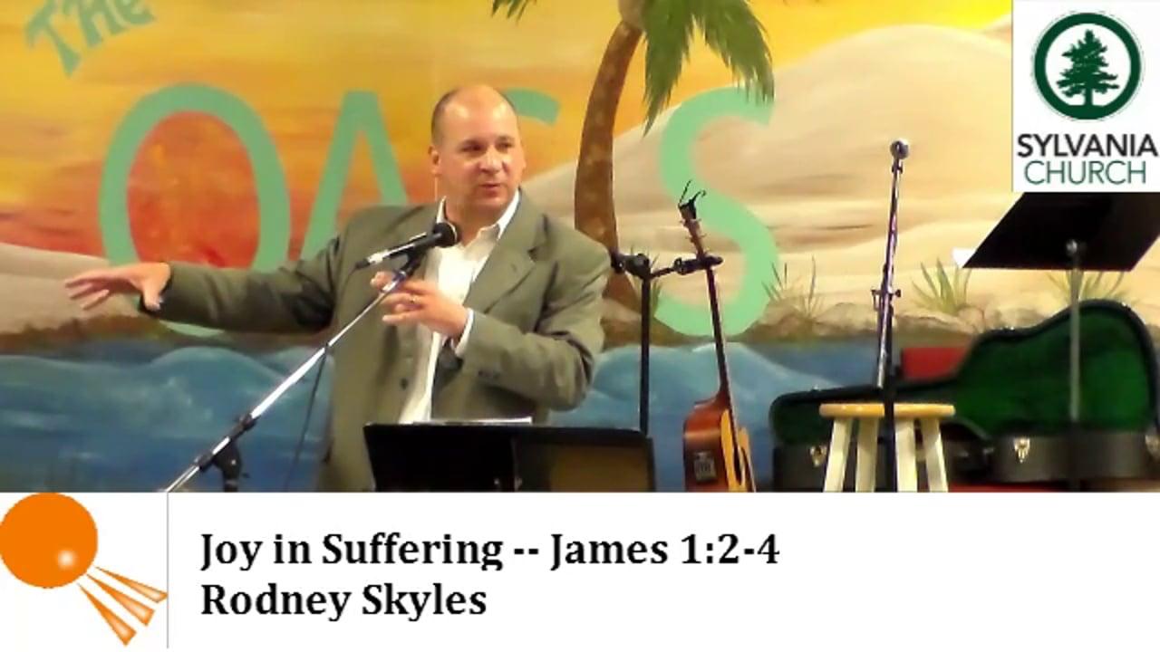 Joy In Suffering (James 1:2-4)