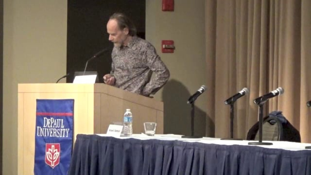 Michael Northcott (Political Theology for Earthlings: Christian Messianism & Ecological Ruins of Global Corporate Capitalism)