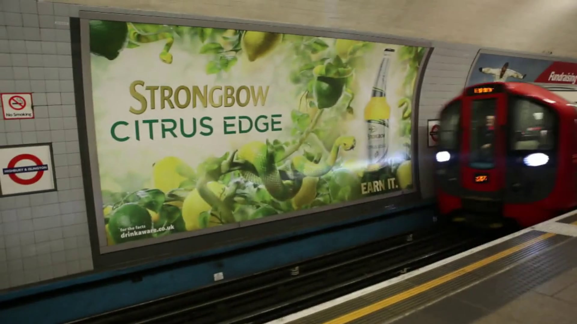 Strongbow - Citrus Edge in Situ