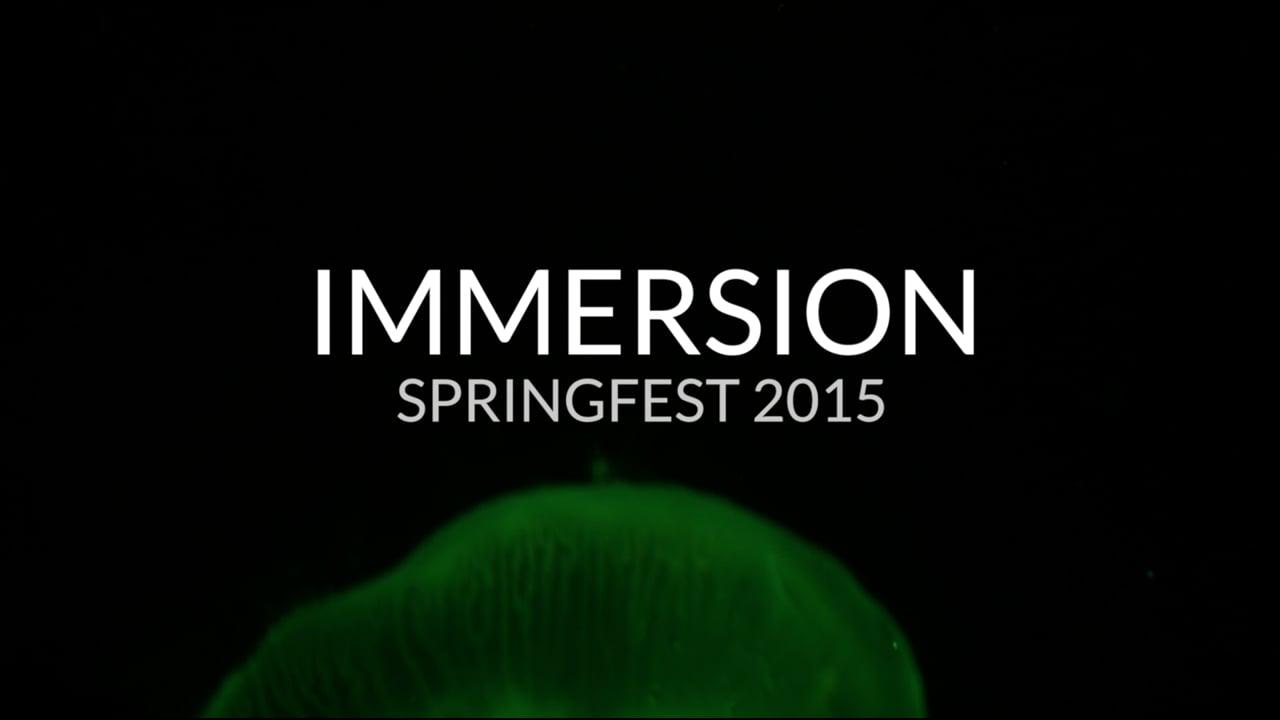 [trailer] springfest: IMMERSION at the Birch Aquarium