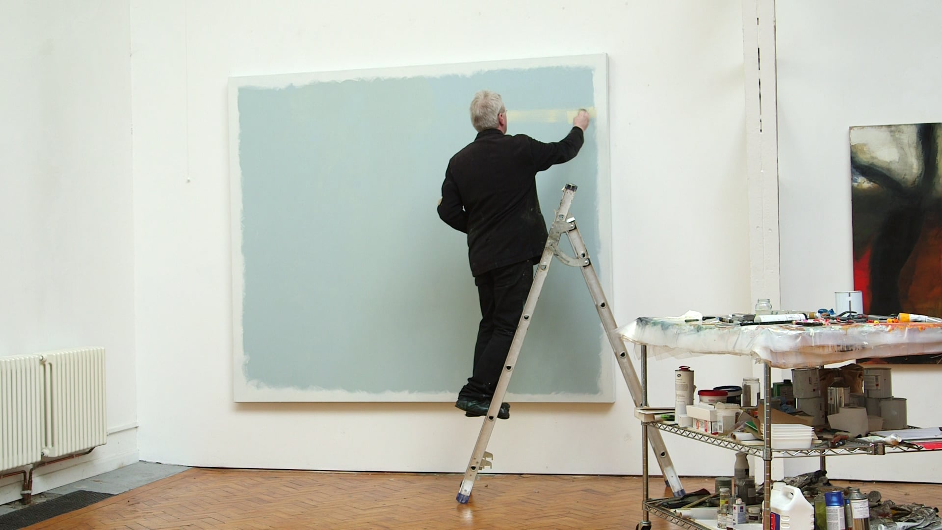 Hughie O'Donoghue RA on the process of painting