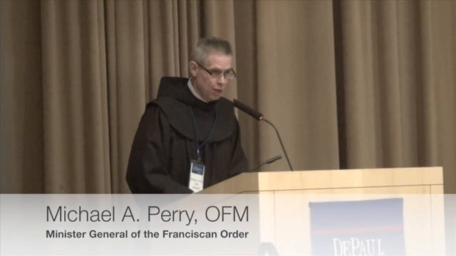 Michael A. Perry, OFM (From Assisi to Buenos Aires: The Cry of the Planet & the Call for a New Ethics of Sustainability)