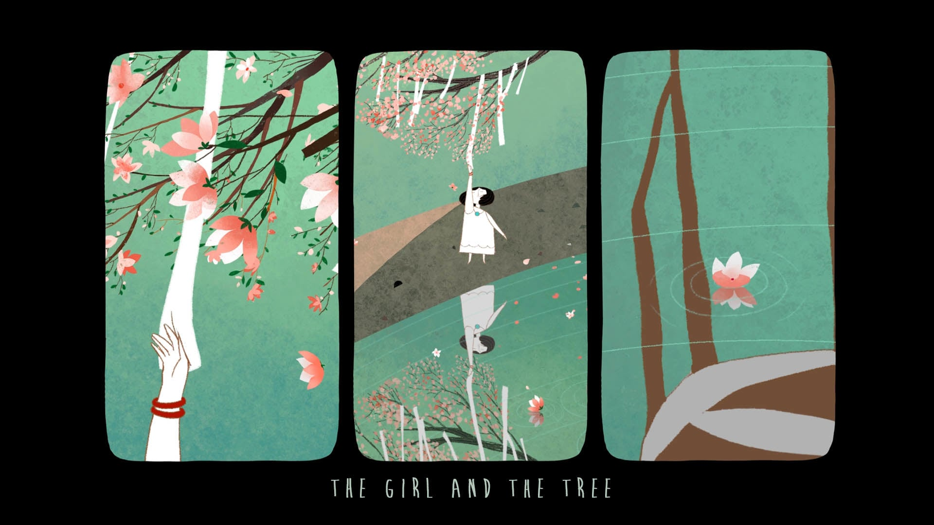 The girl & the Tree