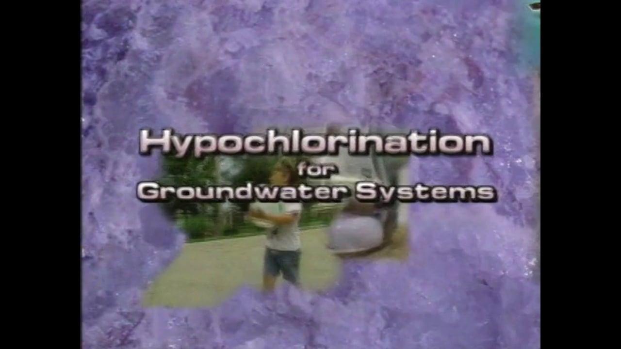 Before You Begin...Hypochlorination
