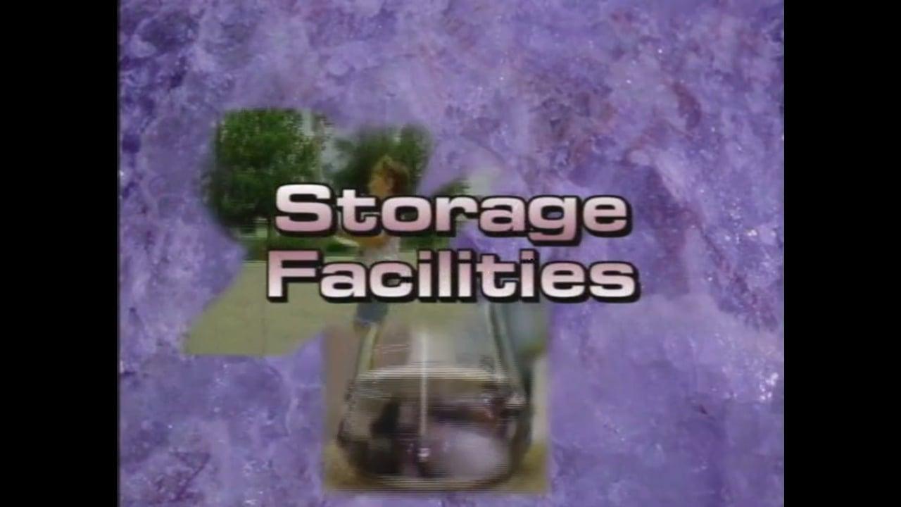 Before You Begin...Storage Facilities