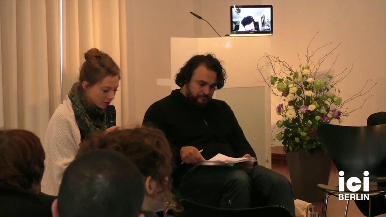 Introduction of Kader Attia by Saskia Köbschall [8]