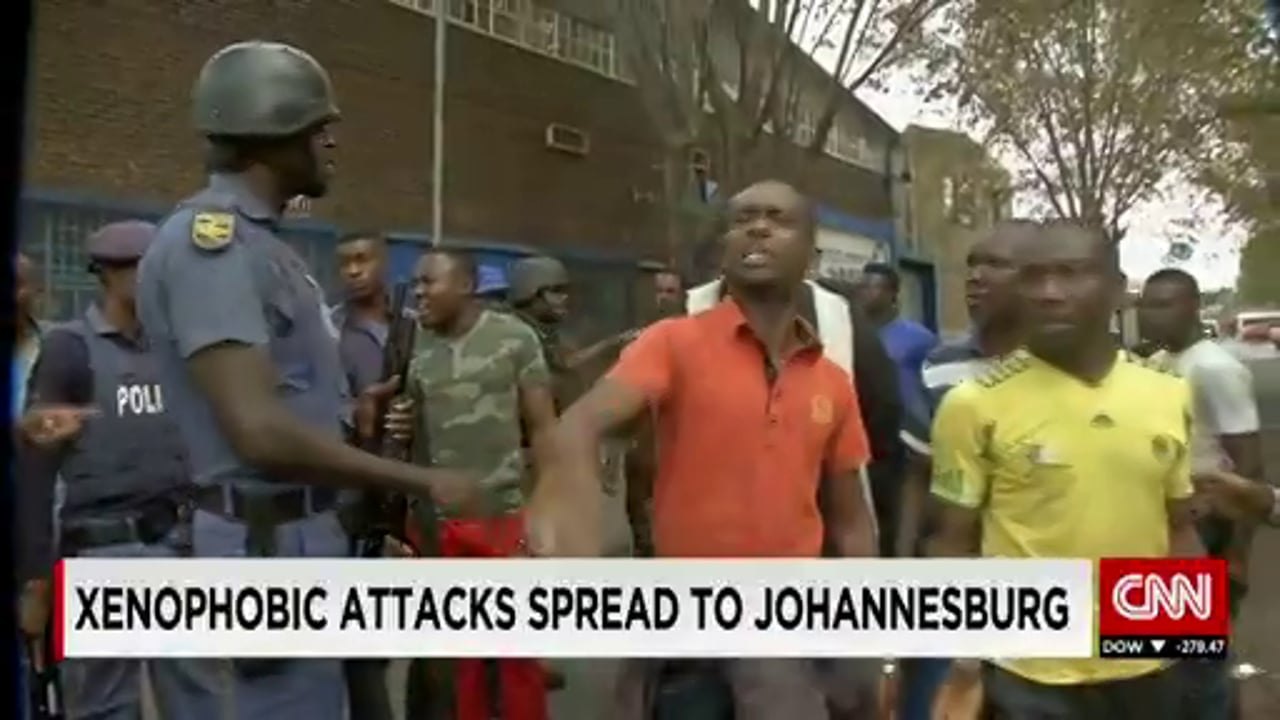 South Africa 2015 - Xenophobic Attacks Spread to Joburg