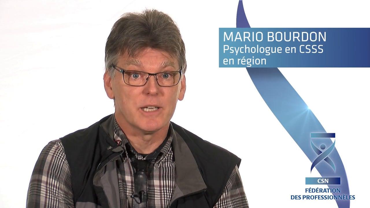 Mario Bourdon nous parle des effets dévastateurs des établissements mammouths de la réforme Barrette