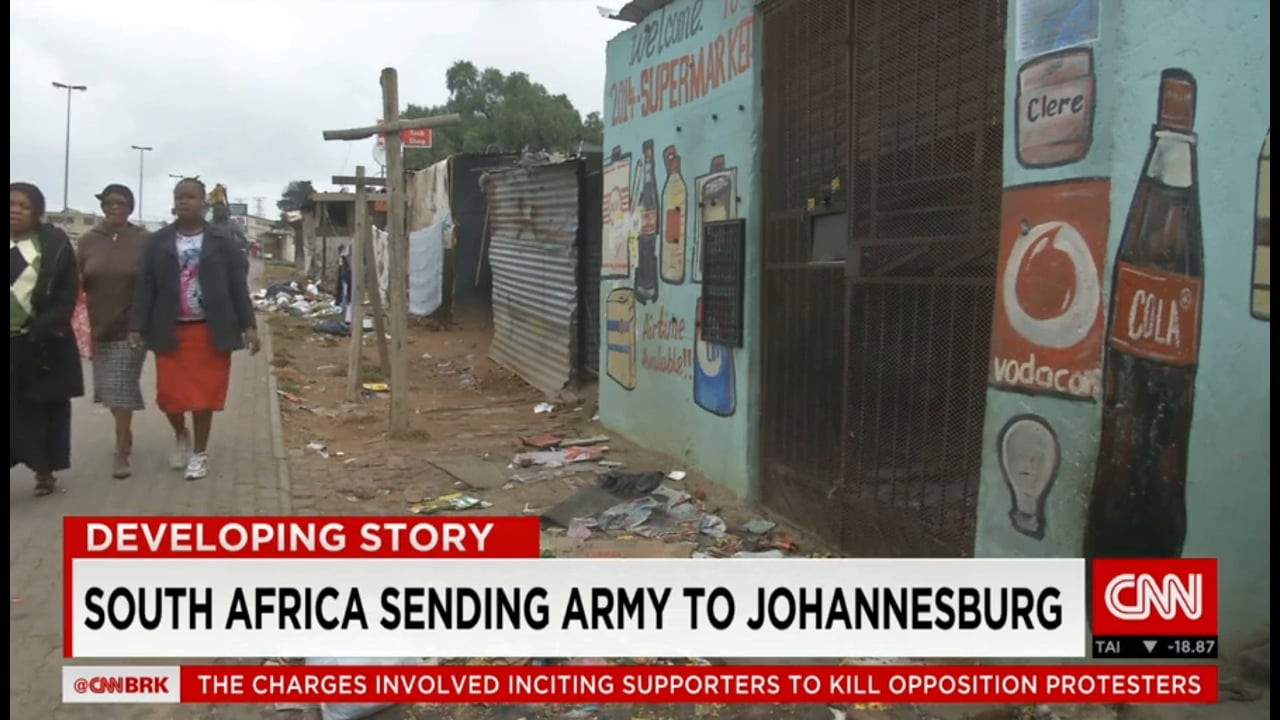 South Africa 2015 - More Xenophobic Attacks
