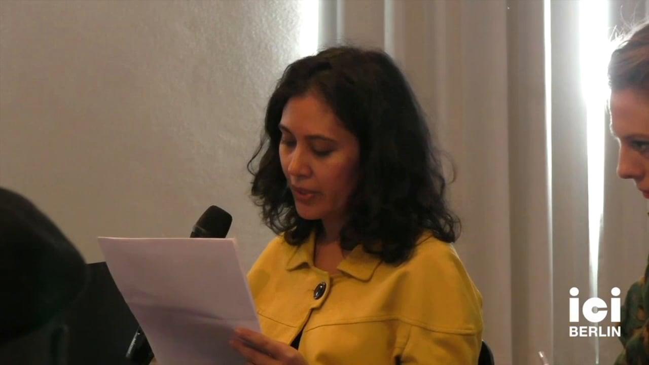Talk by Anupama Rao [3]