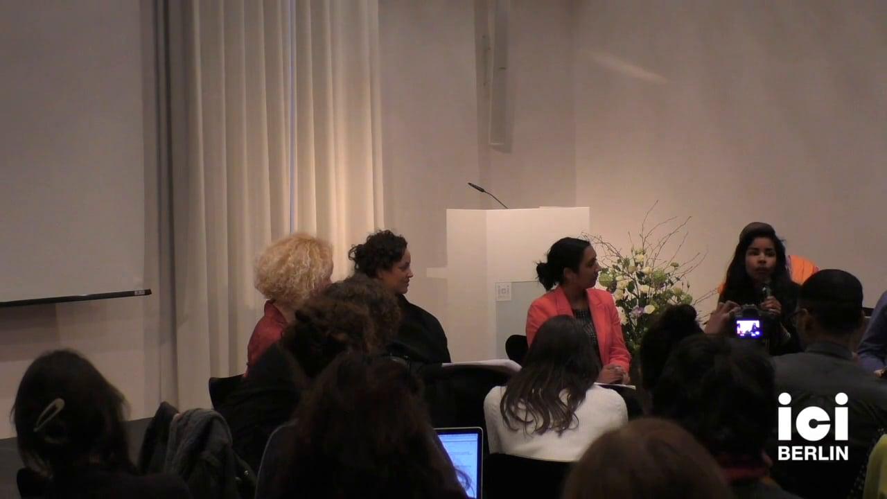 Discussion with Imara Limon [4]