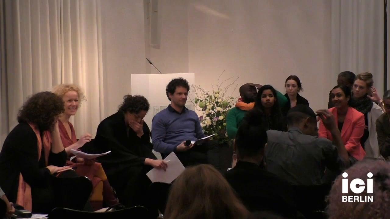 Discussion with Friedrich von Bose [13]