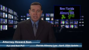2015 Florida Alimony Bill