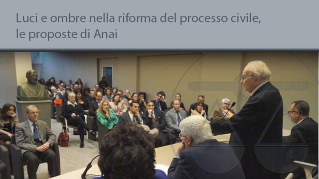 Luci e ombre nella riforma del processo civile, le proposte dell'ansi - 28/4/2015
