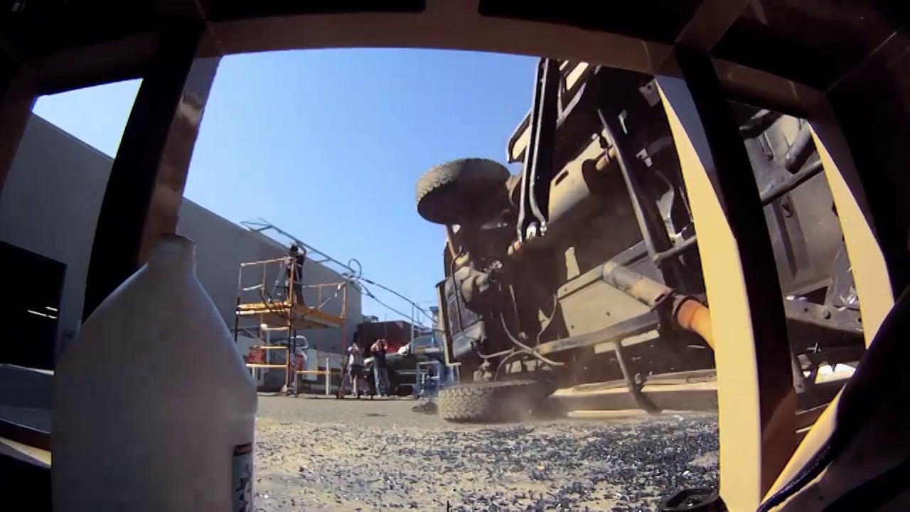"""Earthquake """"Proof"""" Desk v. Truck"""