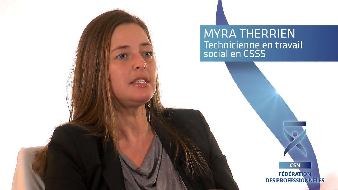 Myra Therrien explique l'inutilité de la réforme Barrette pour l'accessibilité des soins.