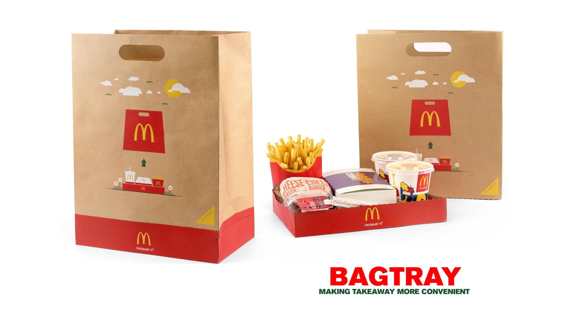 McDonald's BagTray