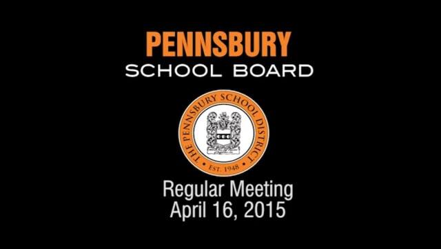 Pennsbury School Board Meeting for April 16, 2014
