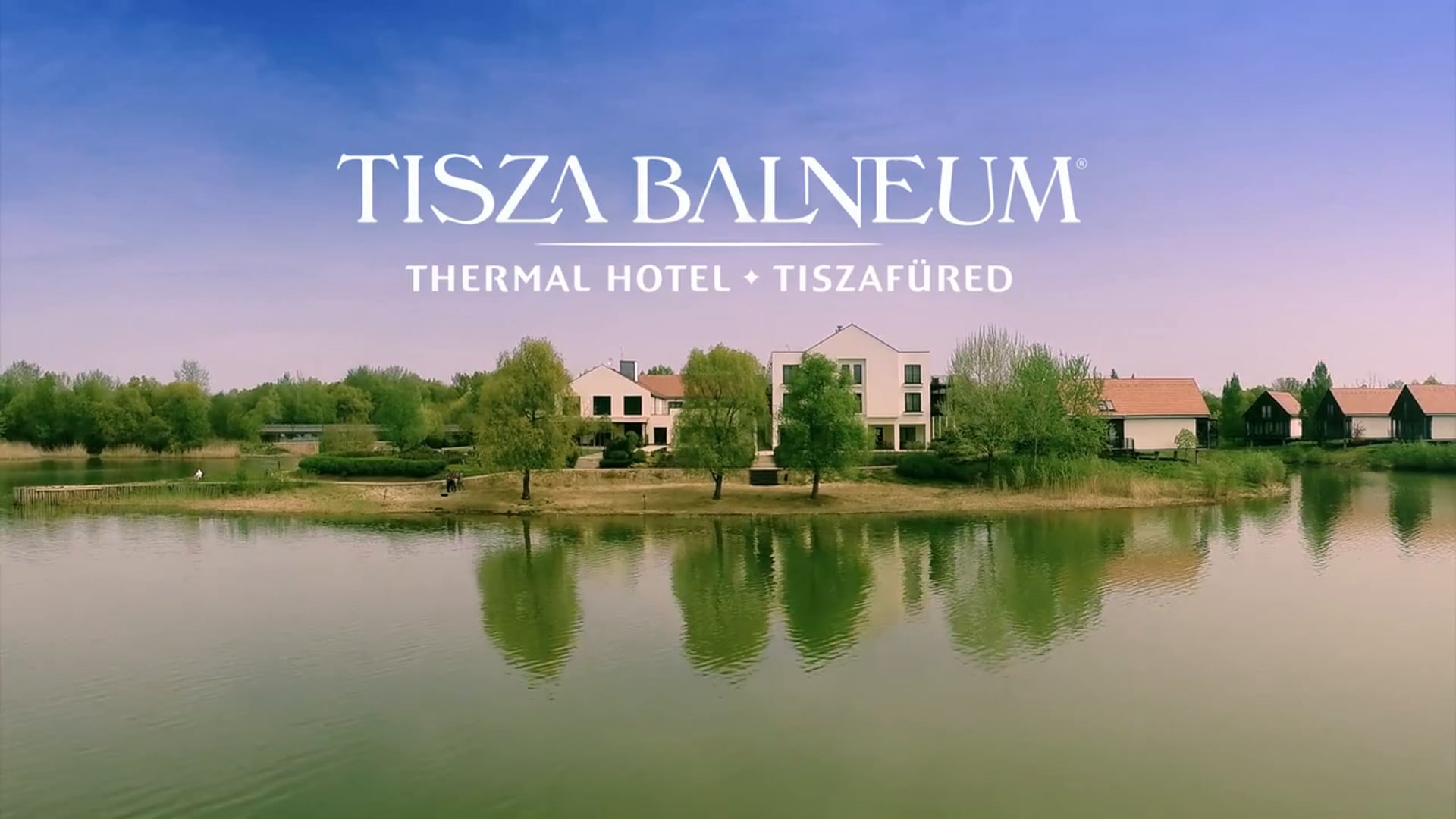 Tisza Balneum Hotel**** Tisza-tó - imagefilm