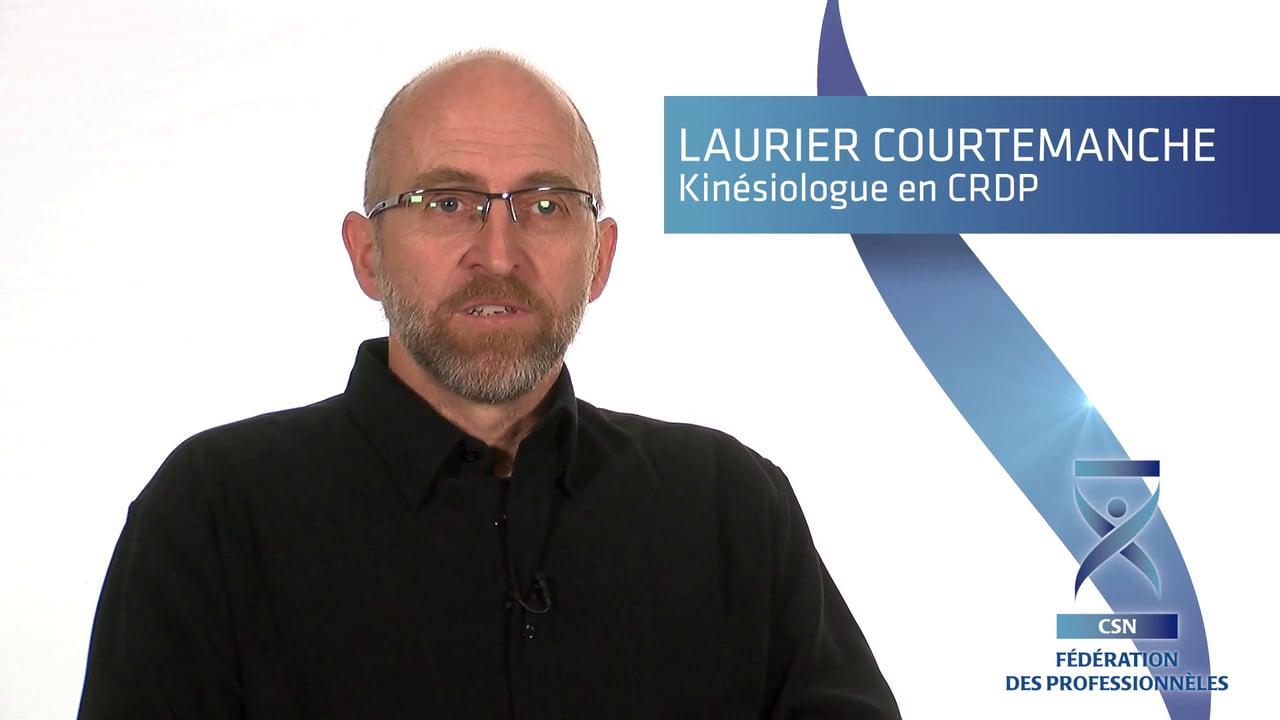 Laurier Courtemanche, un professionnel de la santé qui témoigne des risques de la réforme Barrette.