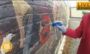Painter Shares Talent with Everyone