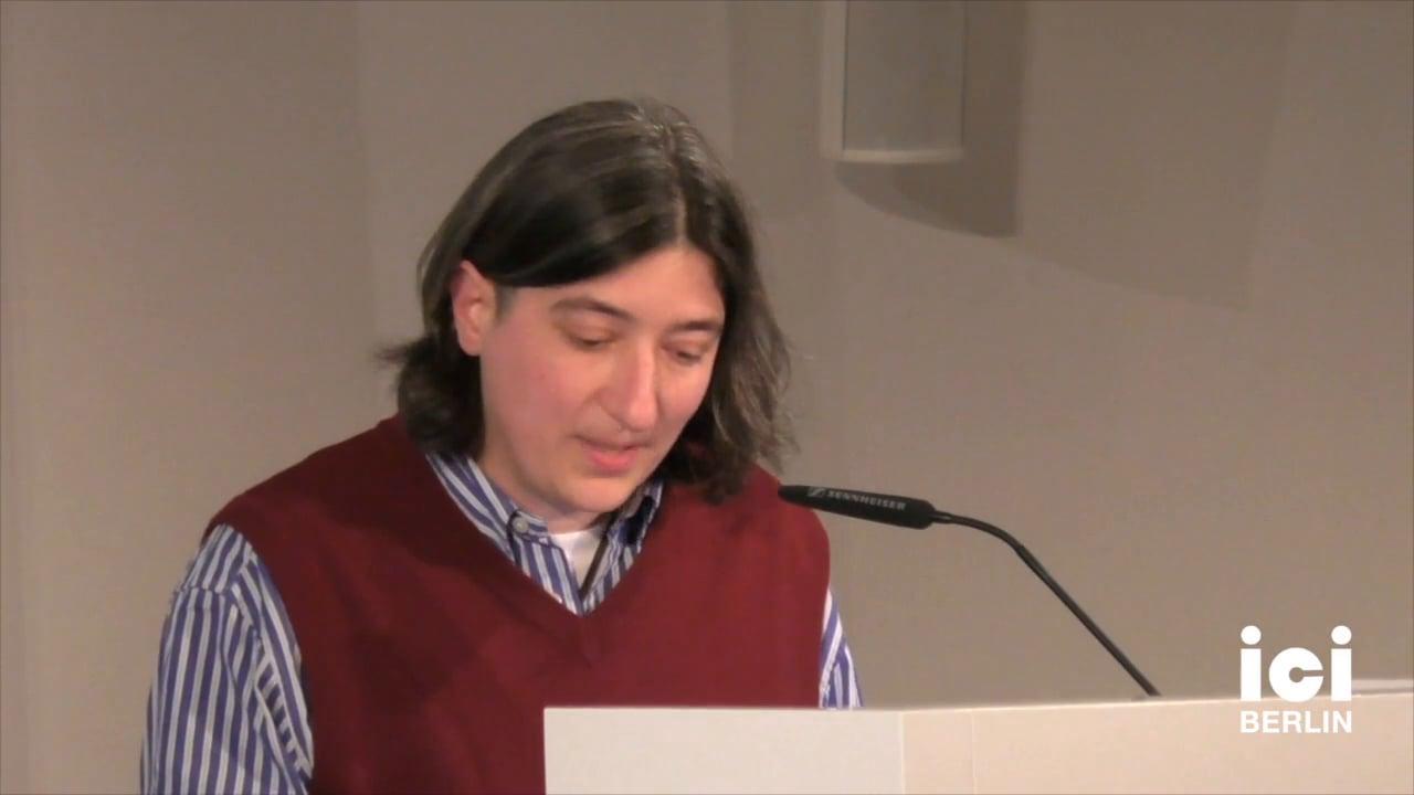 Keynote by Adi Kuntsman [2]