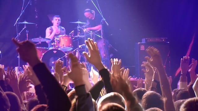 Backstage концерта группы 25/17