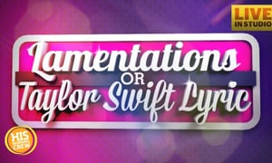 Taylor Swift or Lamentations: The Plumb Edition