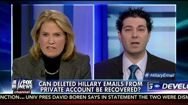 Recovering Hilary Clinton's Emails
