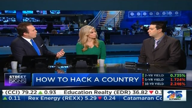 Did North Korea hack Sony? Interview on CNBC