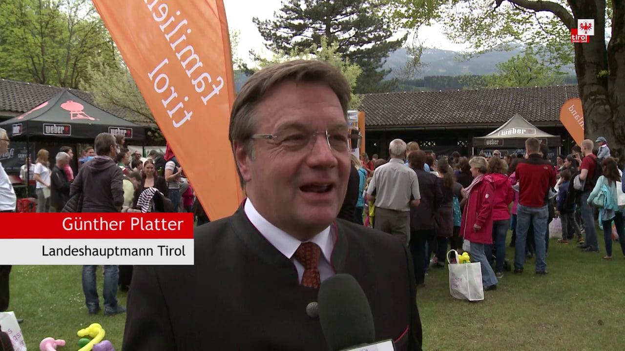 Familienfest des Landes Tirol