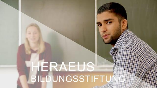 Imagefilm der Heraeus Bildungsstiftung - 3'
