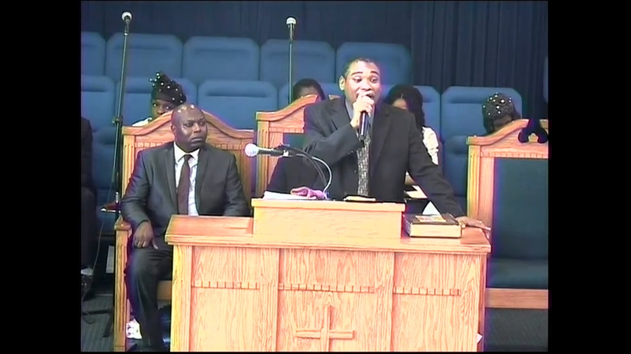 05-03-15, Overseer Michael Lewis, Called To Be Soul Winners