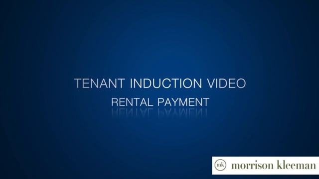 Tenant Induction Video