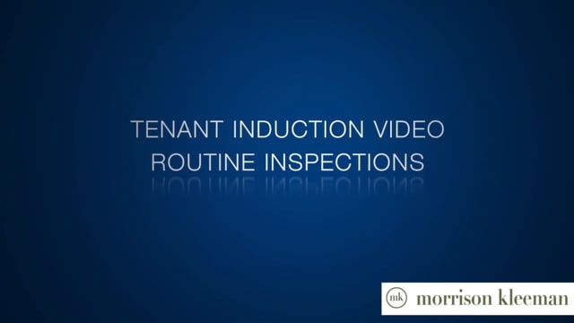 ROUTINE INSPECTIONS