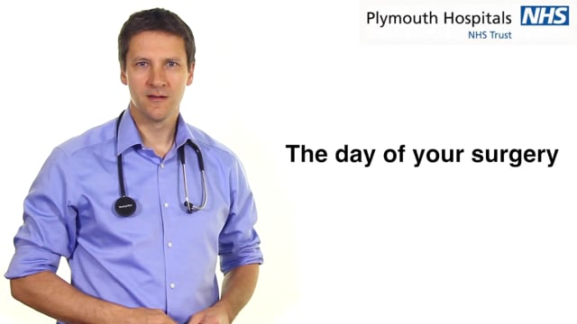 The day of your surgery