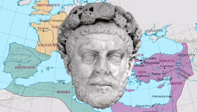 Ticinum–Pavia, AD 295