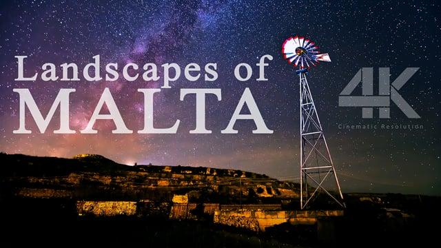 Landscapes of Malta 4K