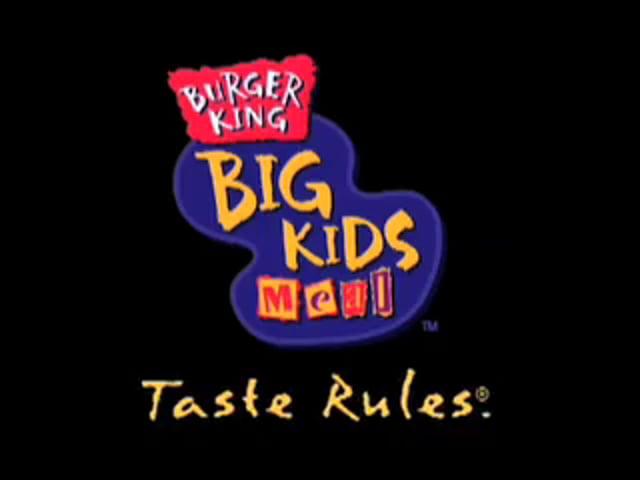 Burger King - Kids Meals